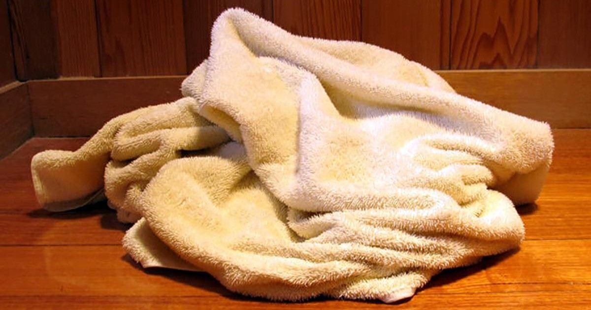 Votre serviette de bain peut être très mauvaise pour votre santé