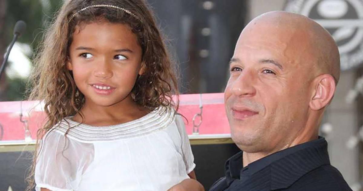 Vin Diesel : le texto trop mignon envoyé par sa fille