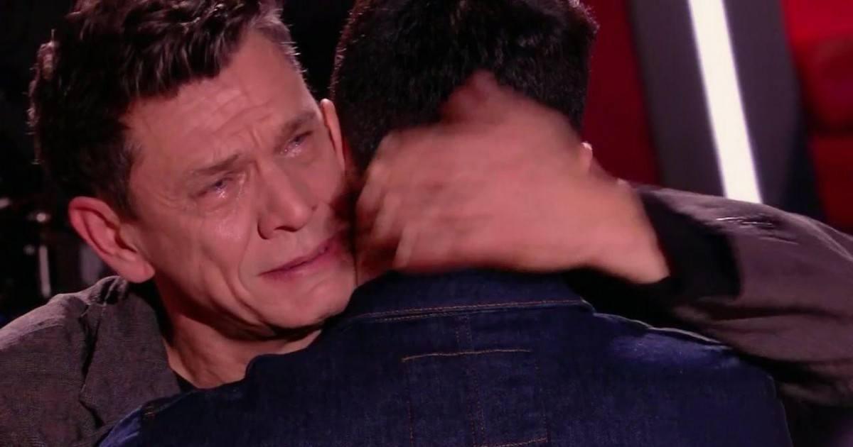 Un choix fatidique pour Marc Lavoine, en larmes, dans The Voice 2020