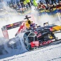 Vous rêviez de voir rouler une voiture de F1 sur de la neige ? Red Bull l'a fait !