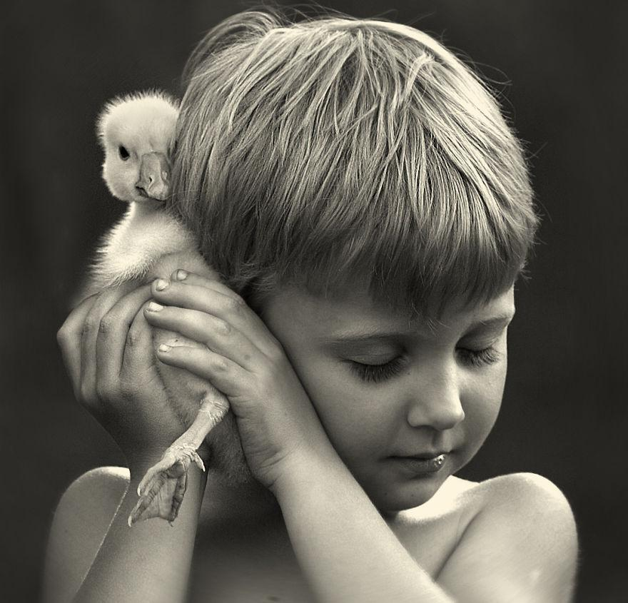 Beauté Simple - enfant canard