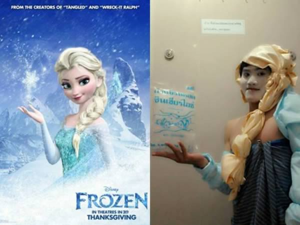 cosplay - frozen