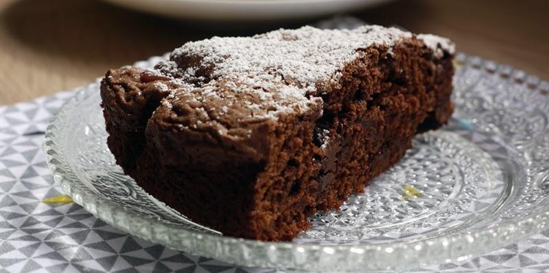 Notre recette pour faire un gâteau fondant au chocolat ...