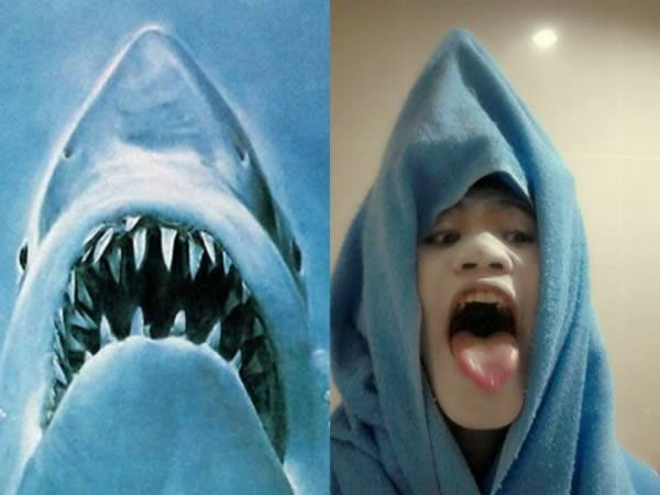 cosplay - requin